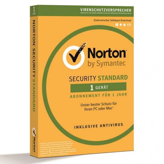 NORTON SECURITY Standard 3.0, 1 Gerät, Box (Card Case)