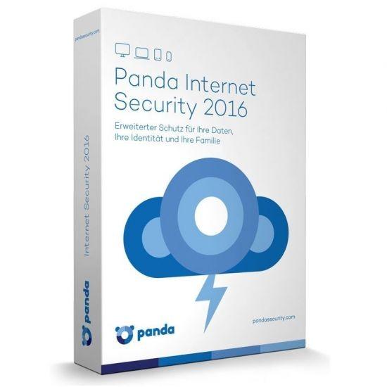 Panda Internet Security 2016 *1-Gerät* Vollversion, KEY