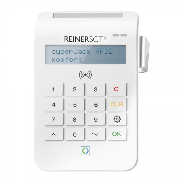 ReinerSCT cyberJack RFID komfort USB WEISS Limited Edition