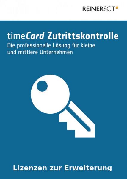 REINER SCT timeCard 6 Zutrittskontrolle ERWEITERUNG, 100 Mitarbeiter, ESD