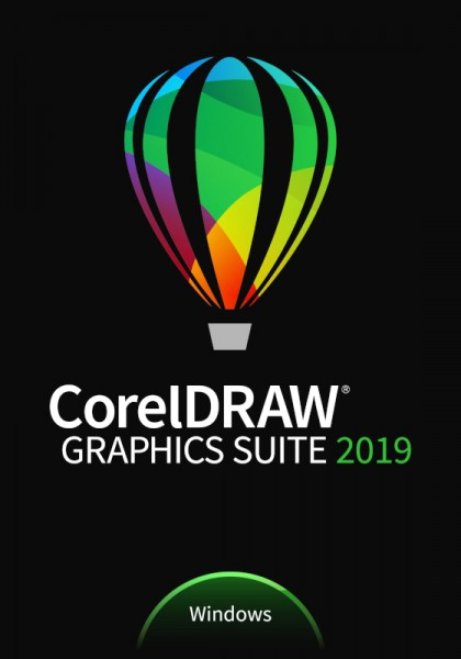 COREL CorelDRAW Graphics Suite 2019 Upgrade Englisch/Tschech./Polnisch, Download