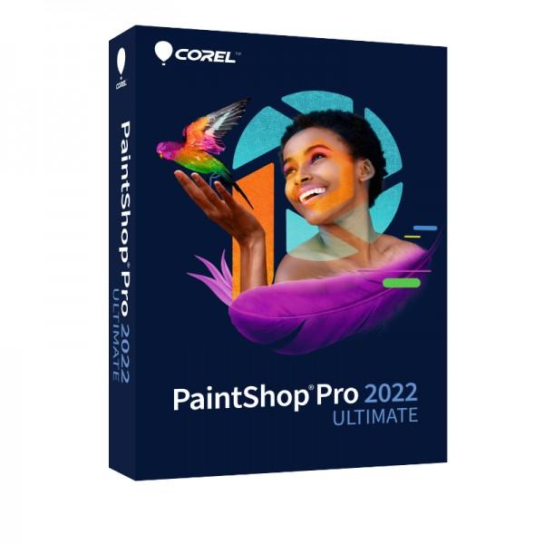 COREL PaintShop Pro 2022 ULTIMATE, Windows 10 64-Bit, Deutsch, BOX