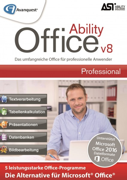 Ability Office 8 Professional #Key (ESD)