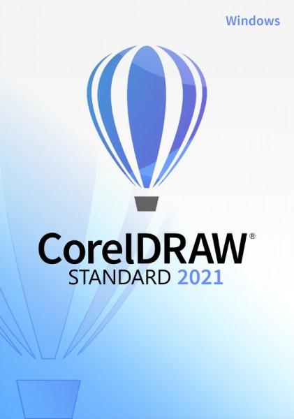 COREL CorelDRAW Standard 2021, Windows10 (64 Bit), Download
