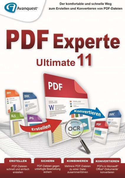 PDF Experte 11 Ultimate #Key (ESD)