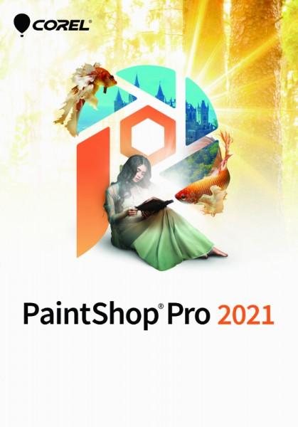 COREL PaintShop Pro 2021, Windows, Deutsch, BOX