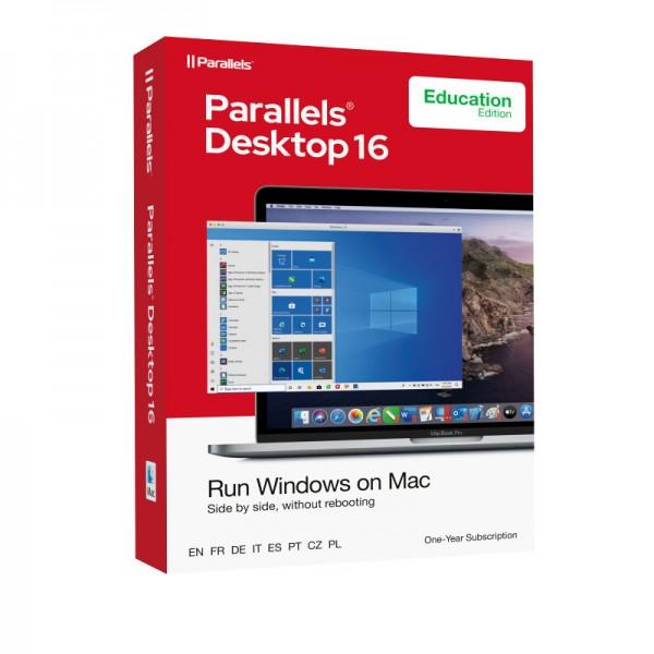 EDUCATION Parallels Desktop 16 Standard für MAC *1-Jahr* Schulversion/Academic BOX