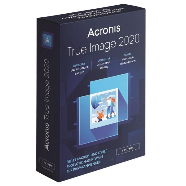 Acronis True Image 2020, 1 Gerät, Dauerlizenz, BOX
