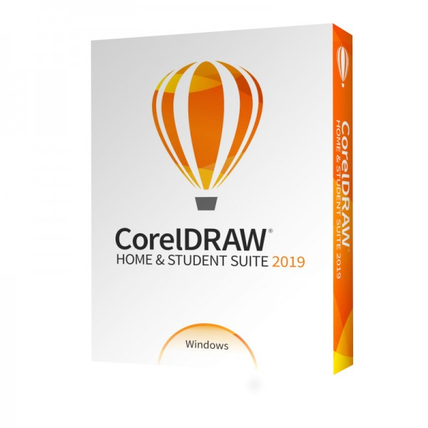 Corel DRAW Home & Student Suite 2019, Box