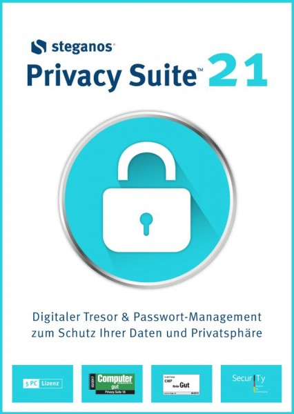 Steganos Privacy Suite 21, 5 PC #DOWNLOAD