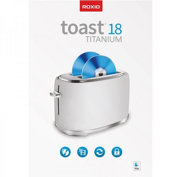Roxio Toast 18 Titanium, NUR FÜR MAC, Download