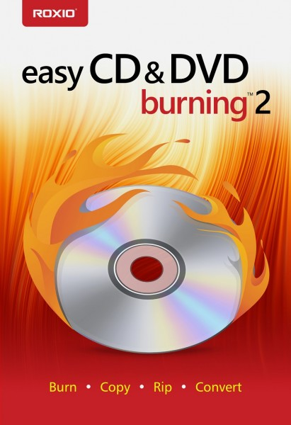Roxio Easy CD & DVD Burning 2, BOX