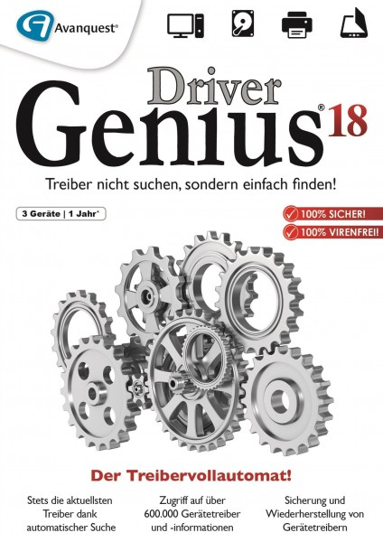 Driver Genius 18 3 PC #Key (ESD)