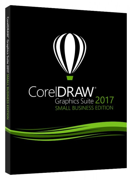 Corel Draw Graphics Suite 2017 (X9) SMALL BUSINESS EDITION 3-User, BOX