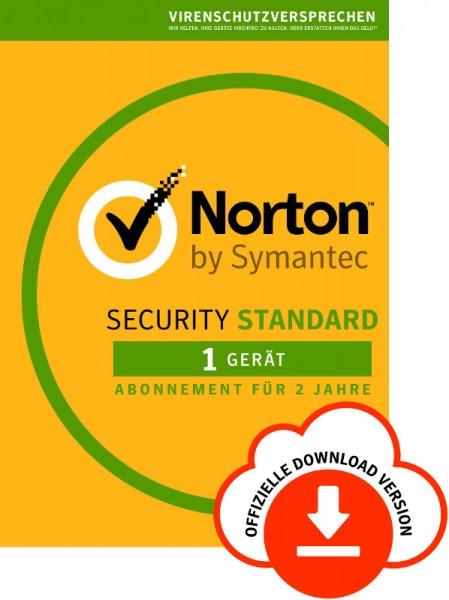 NORTON SECURITY Standard 3.0, 1 Gerät, -2 Jahre- Download