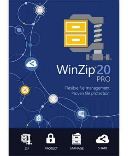 WinZip 20.5 Pro, ESD Lizenz Download Win Deutsch