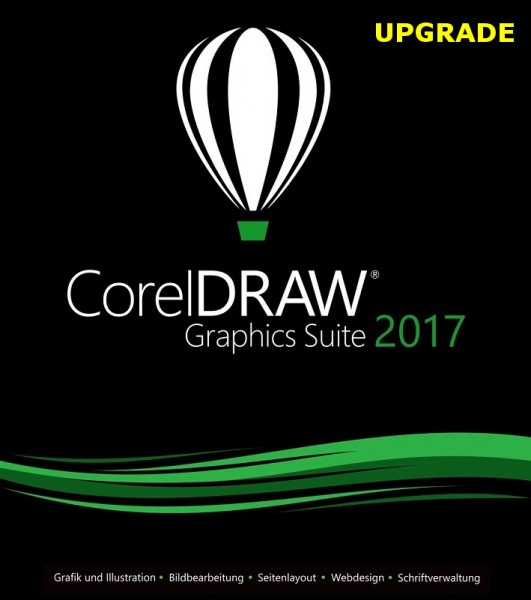 Corel DRAW Graphics Suite 2017 (X9) Upgrade Deutsch DOWNLOAD