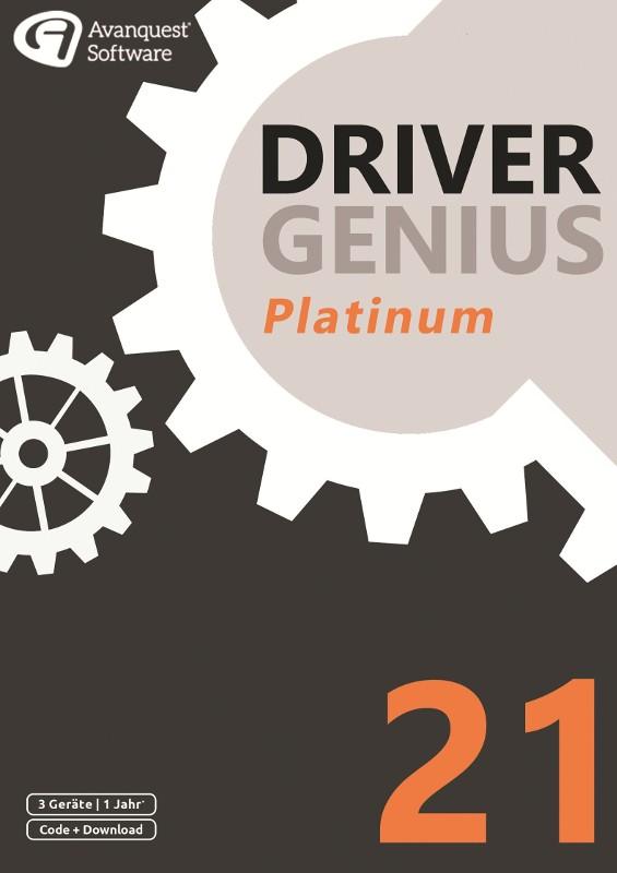 Driver Soft Driver Genius 21 Platinum, 3 Geräte, 1 Jahr, DOWNLOAD DS-12281-LIC