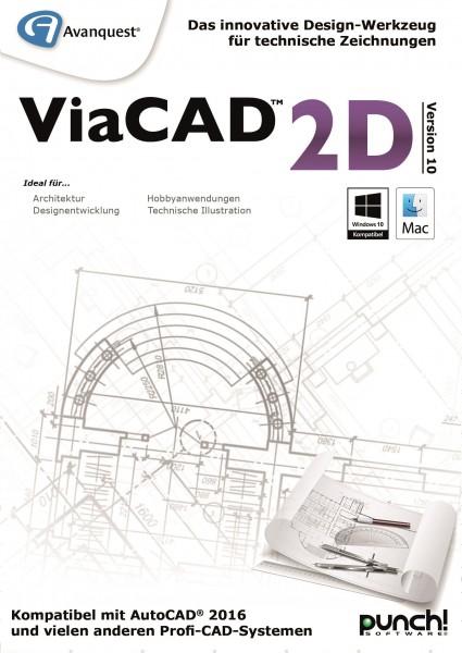ViaCAD 2D 10 WIN #Key (ESD)