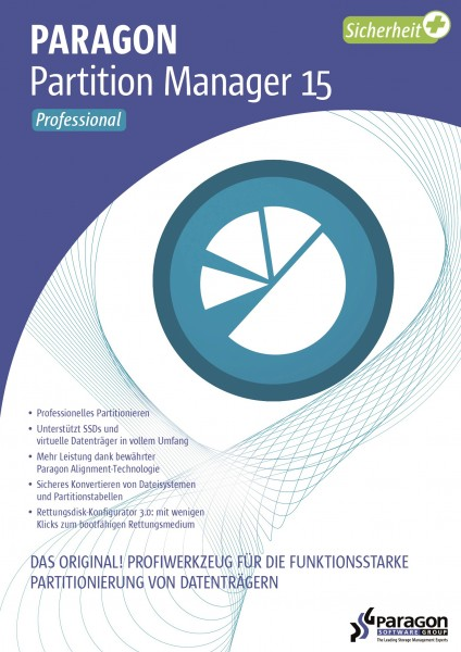 Paragon Partition Manager 15 Professional #Key (ESD)