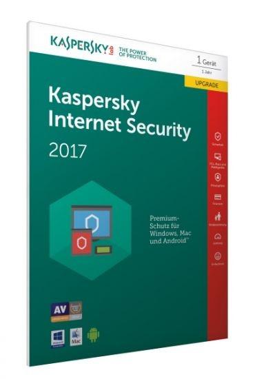 Kaspersky Internet Security 2017 - - 1 Gerät - - Upgrade (Code Only) #FFP