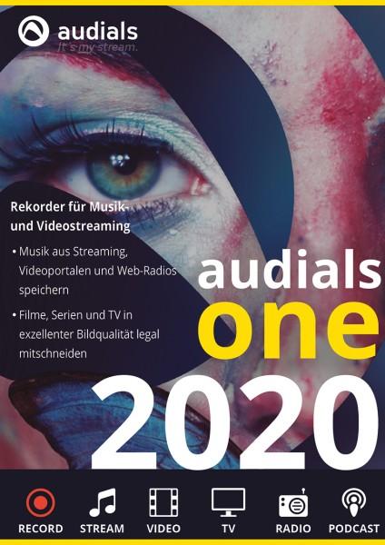 Audials One 2020 #PKC (Karte mit Key und Download-Link)