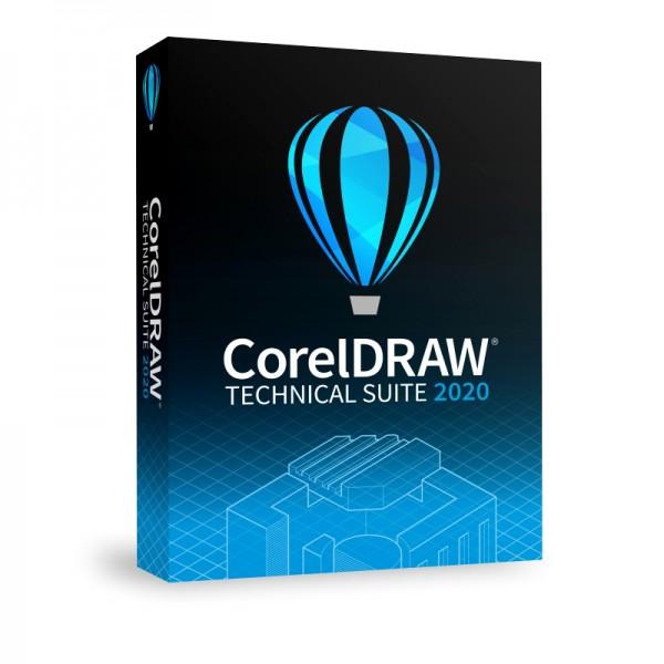 CorelDRAW Technical Suite 2020 Vollversion Deutsch, Windows, BOX