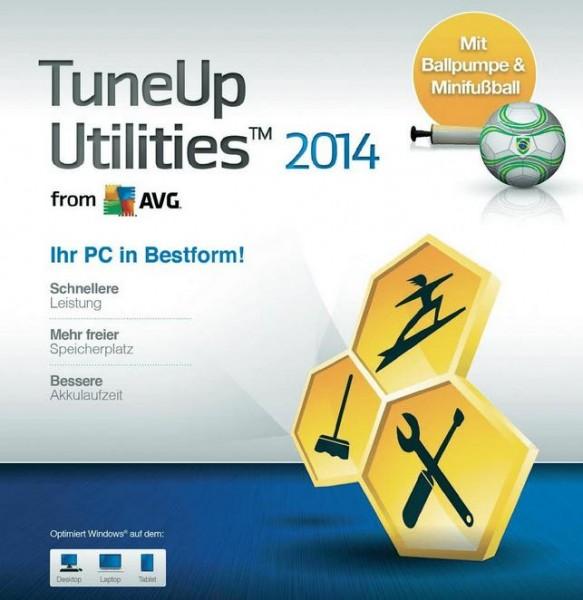 TuneUp Utilities 2014 1PC Champions-Edition inkl.Mini-Fußball+Pumpe