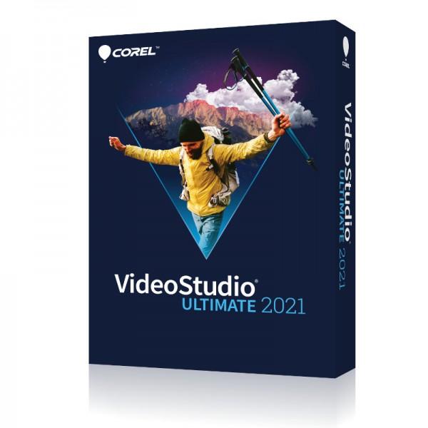 Corel VideoStudio 2021 Ultimate Deutsch, Windows 64 Bit, BOX