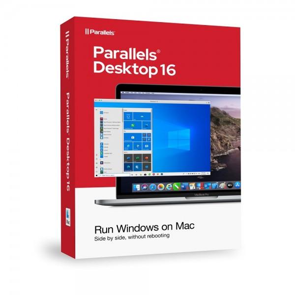 Parallels Desktop 16 Standard für MAC *Dauerlizenz* BOX
