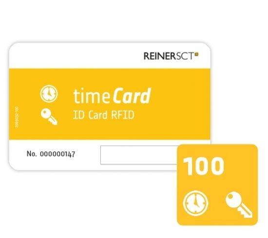 ReinerSCT REINER SCT timeCard RFID Chipkarten 100 Stk. (DES) 2749600-381