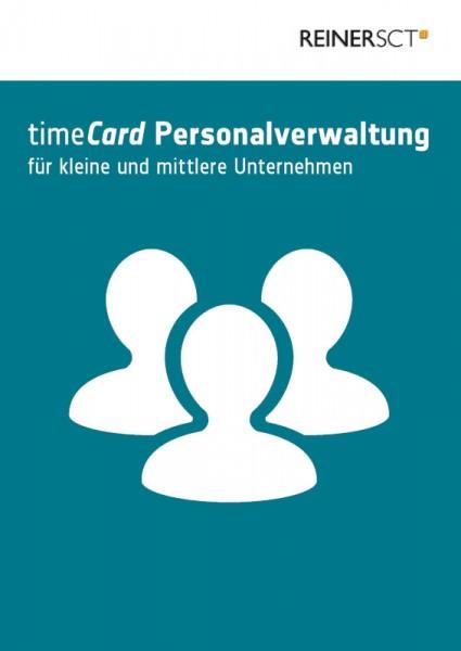 REINER SCT timeCard 6 Personalverwaltung Basis Softwarelizenz 25 Benutzer ESD