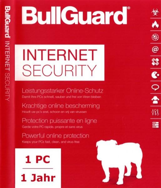 BullGuard Internet Security 2018, 1 Gerät, PC/Mac/Android,1 Jahr, Download