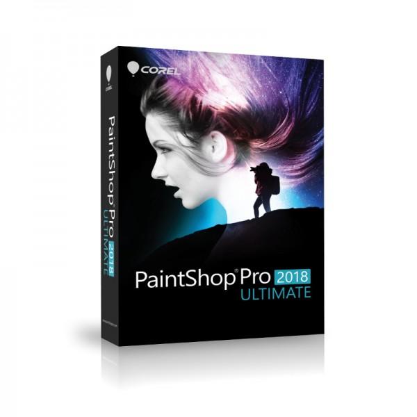 Corel PaintShop PRO 2018 ULTIMATE Deutsche BOX