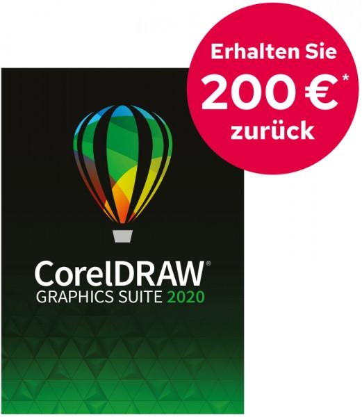 CashbackAktion: CorelDRAW Graphics Suite 2020, Windows, Deutsch, Download
