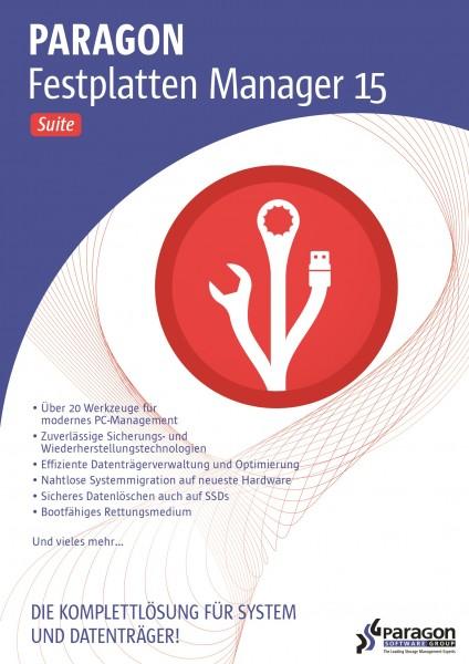 Paragon Festplatten Manager 15 Suite #Key (ESD)
