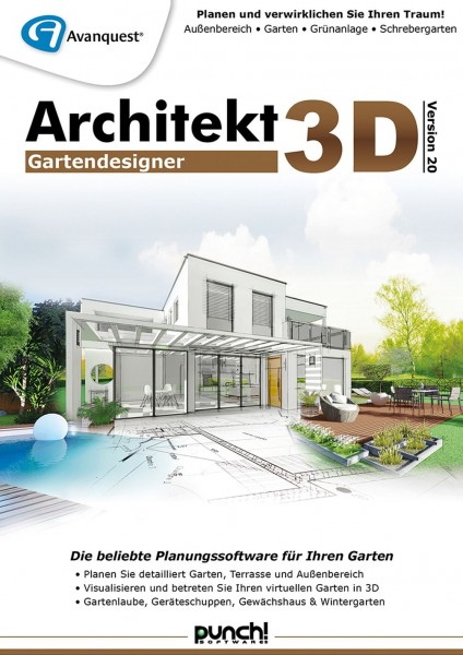 Architekt 3D 20 Gartendesigner Windows, DOWNLOAD