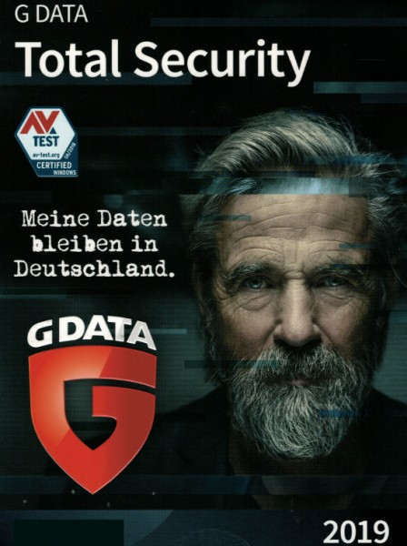 G DATA Total Security 2019 3 PC 1 Jahr Download