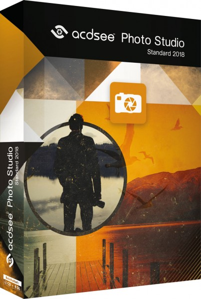 ACDSee Photo Studio Standard 2018, BOX mit CD
