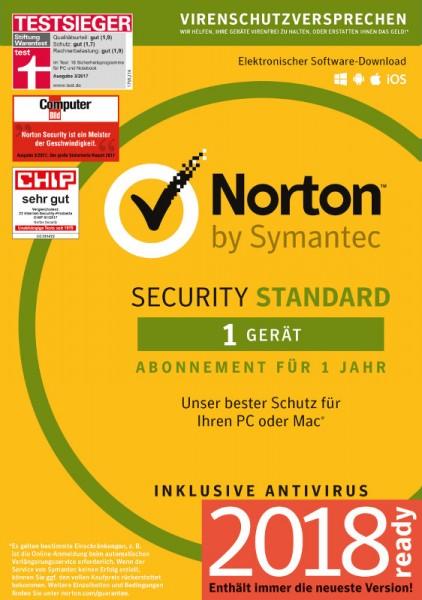 NORTON SECURITY Standard 3.0, 1 Gerät, Download