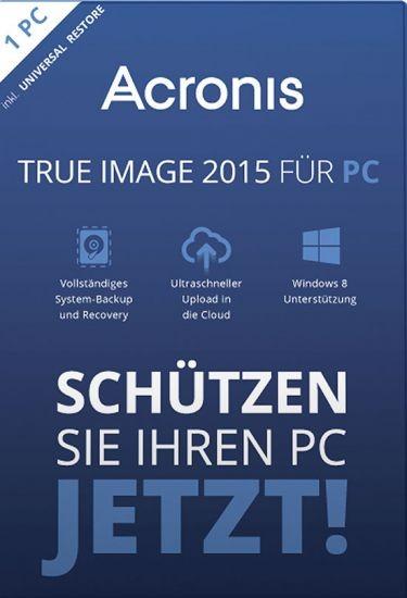 Acronis True Image 2015, KEY, Download, Win 10/8/7 - Mac