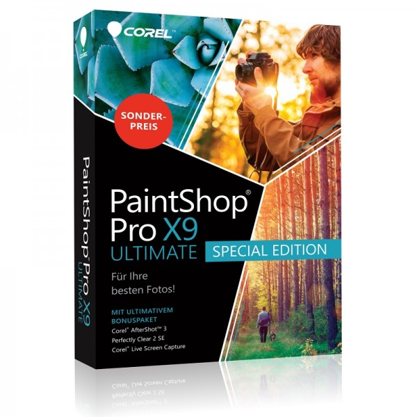 Corel PaintShop Photo Pro X9 ULTIMATE Spezial Edition BOX
