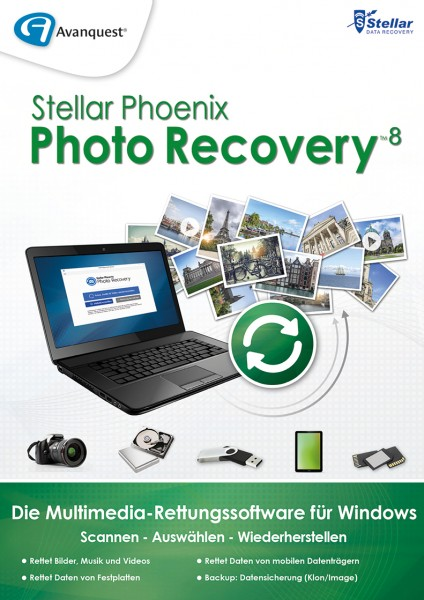 Stellar Phoenix Photo Recovery 8 Windows #Key (ESD)