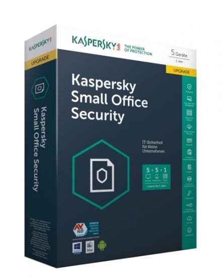 Kaspersky Small Office Security Update (5 User) #BOX