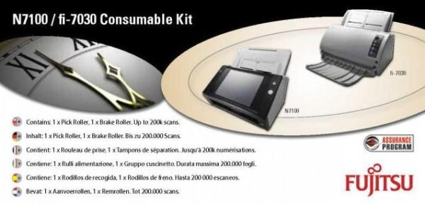 Fujitsu Verbrauchsmaterialien-Kit für N7100 / fi-7030 (Scanner Rollen-Kit)