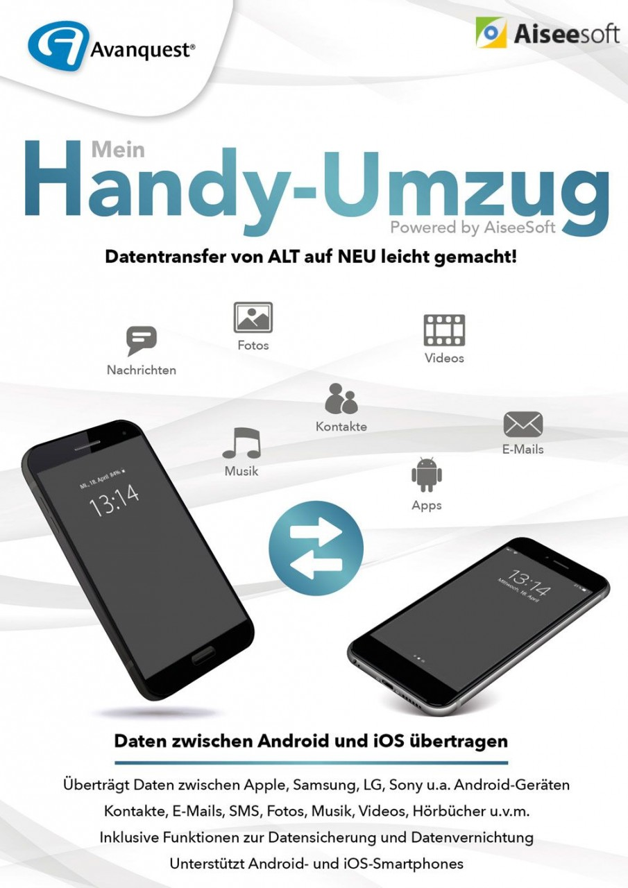 Aiseesoft Mein Handy-Umzug #Key (ESD) POA-11978-LIC