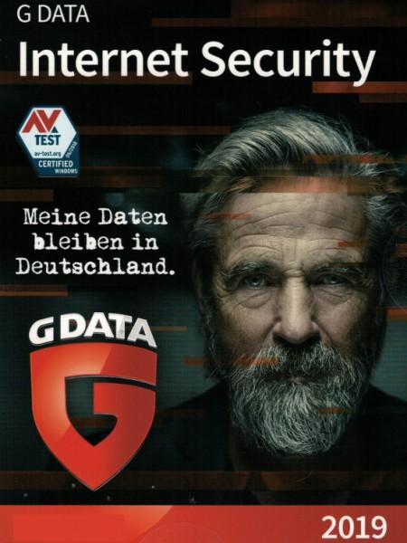 G DATA Internet Security 2019, 3 PC, 1 Jahr, Download