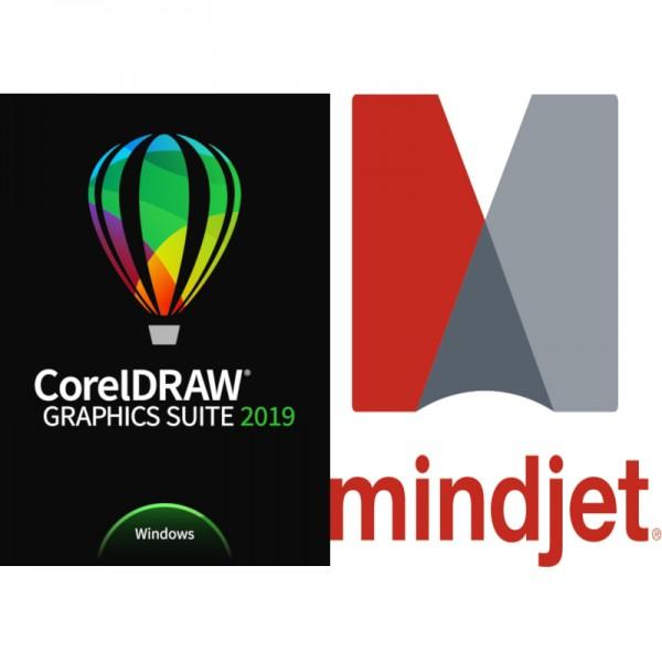 Corel DRAW GraphicsSuite 2019 NurStudent/Schüler/Dozent/Lehrer+MindManager15 ESD