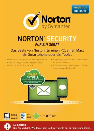 NORTON SECURITY 2.0, 1 Gerät, Download