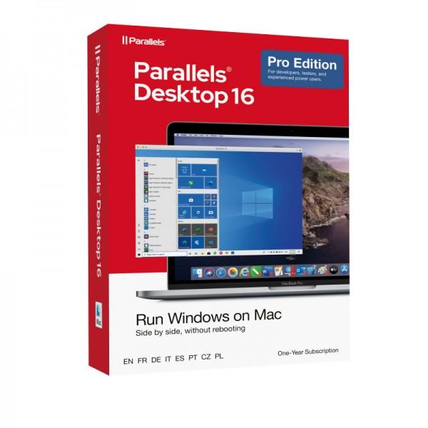 Parallels Desktop 16 PRO für MAC *1-Jahr* BOX